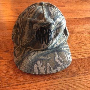NRA Camouflage Adjustable Hat Rifle Association